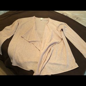 H&M's Basic Cardigan - Pink and Gray